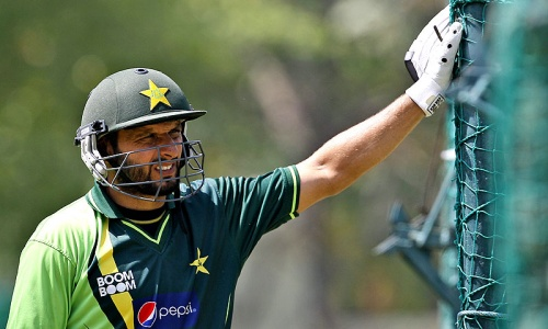 Afridi eyes first century against South Africa in ODI series