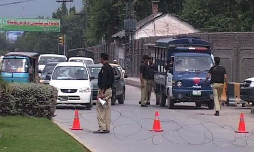 Peshawar operation stepped up following intelligence reports