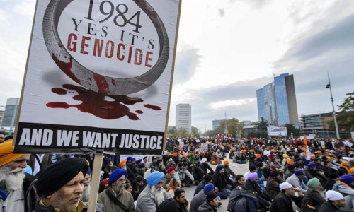 Sikhs demand UN probe into 1984 India 'genocide'