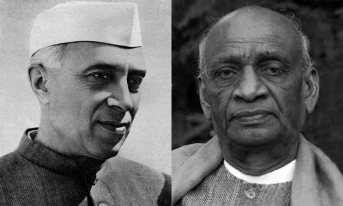 Nehru vs Patel