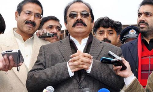 Sanaullah criticises Fazl, Munawar over calling Hakimullah martyr