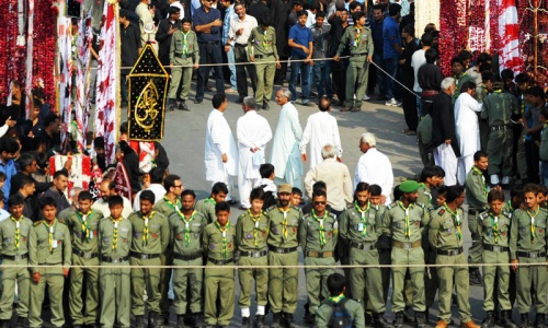 Scouts: Serving humanity, not sect