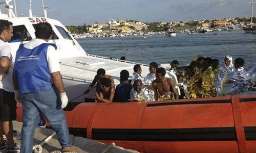 At least 12 migrants die in boat sinking off Greece: port