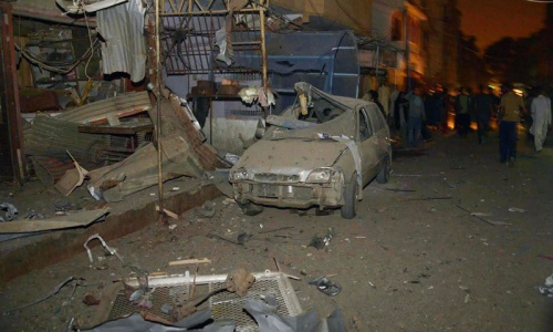 At least seven dead in two blasts in Karachi