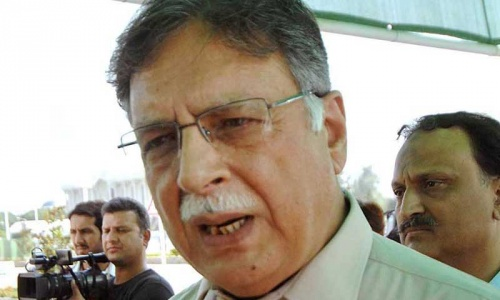 PTI sit-in nothing more than a farce: Pervez Rashid