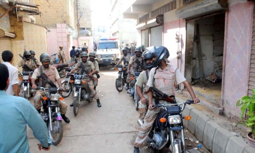 Three killed in Karachi violence; 44 suspects arrested in raids