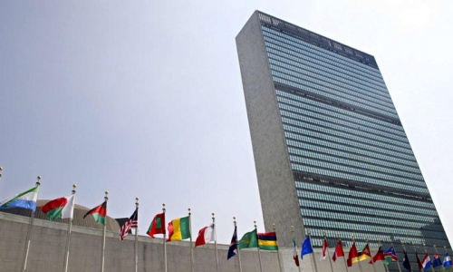 Pakistan urges end to drone strikes in UN General Assembly