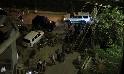 Attack on ExpressNews office injures three in Karachi