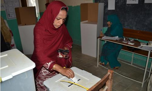 In pictures: Balochistan LG elections
