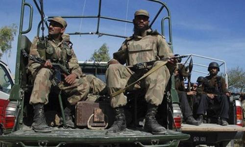Roadside bomb kills four soldiers in North Waziristan