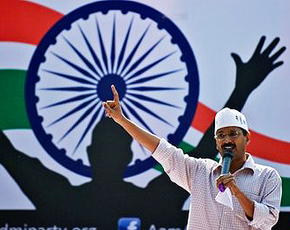 Arvind Kejriwal. -Photo by AFP