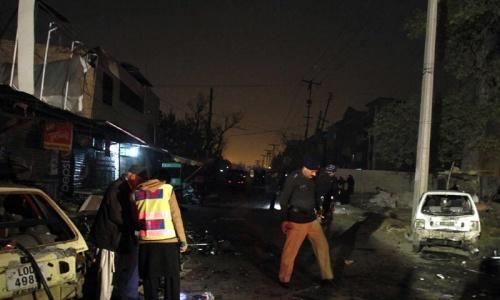 Three dead in suicide blast near Rawalpindi Imambargah