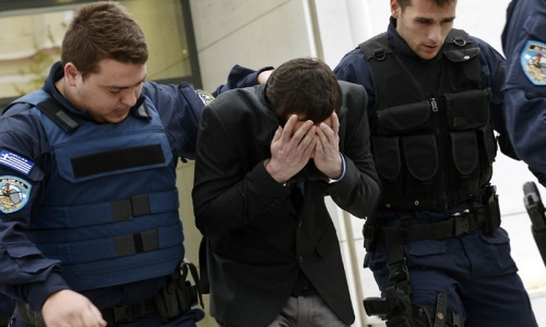 Greek neo-Nazis on trial for murdering Pakistani immigrant