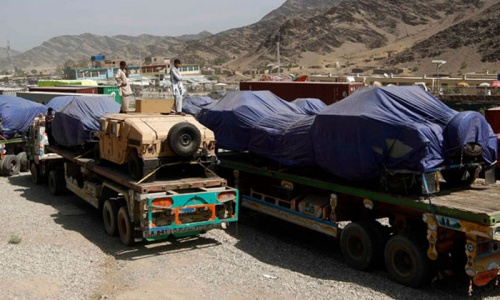 US bill links Pakistan aid to Nato supply routes