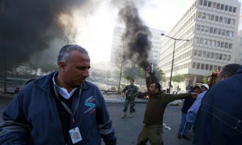 Lebanon bombing kills five, including ex-minister