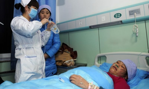 Mosque stampede in China kills 14