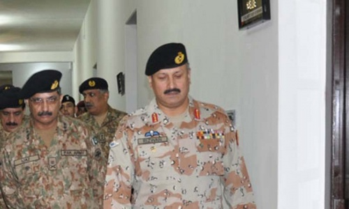 Rangers want continuity of present police setup in Karachi
