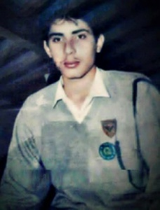 A young Misbah.