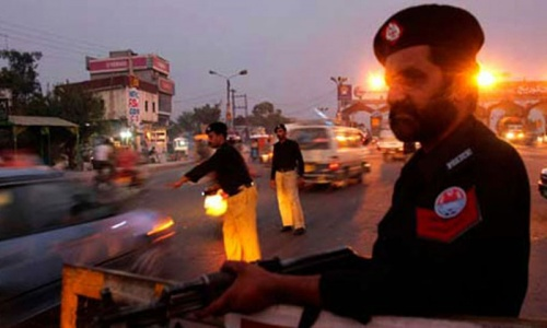 Karachi violence: Two policemen shot dead, two injured