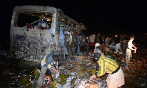 Blast on bus kills 22 Shia pilgrims in Mastung