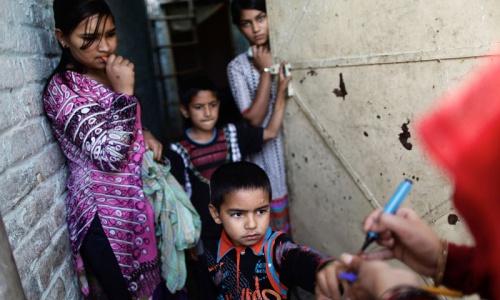 Nato tanker burnt, polio team attacked in Balochistan