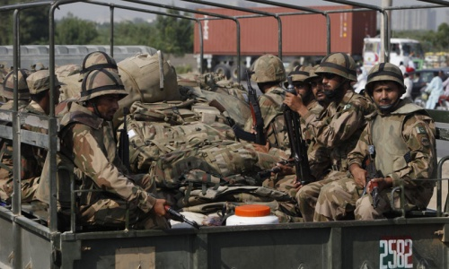Security forces launch operation in Mastung; 25 detained