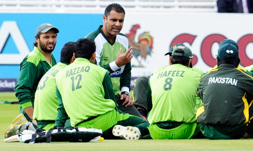 Waqar frontrunner for head coach role: reports