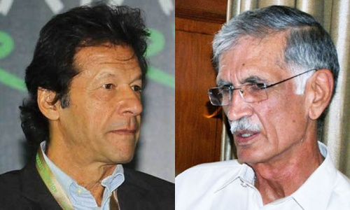 Between Khan and Khattak