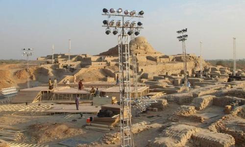 Moenjodaro 'in danger' after the Sindh Festival