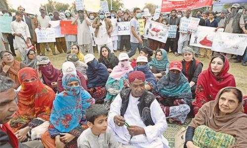 Relatives of missing Baloch looking to UN as last ray of hope