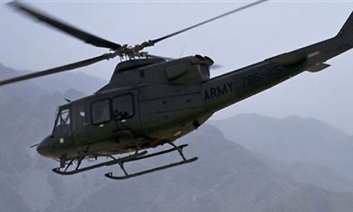 Gunship helicopters kill five suspected militants in Khyber