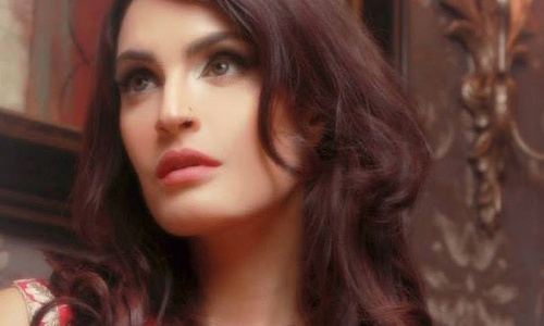 Model and actor, Nadia Hussain Khan.
