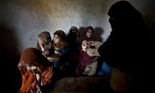 KP govt's novel move aims to save children from polio