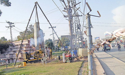 Metro Bus Project eats away Women Park