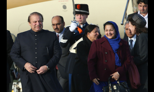 Sharif arrives in Amsterdam for N-summit