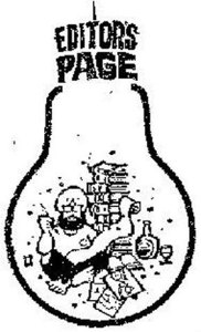 Mario Miranda's caricature of Khushwant Singh went with his weekly column.