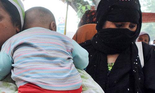An infant pleads innocence
