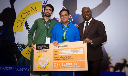 Pakistani innovation project wins top prize at global contest