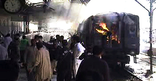 Sibi train blast death toll reaches 16