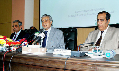 Dar takes tax officials to task over target