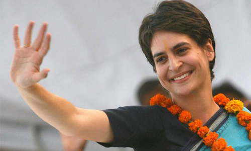 Priyanka steps up to fight for India's Congress party