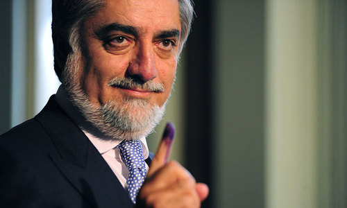 Abdullah ahead in partial Afghan vote results