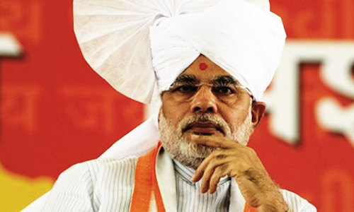 Modi slams anti-Muslim remarks by his party's candidate