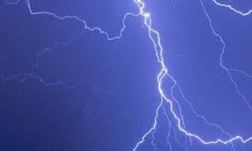 Lightning kills two near Rawalpindi