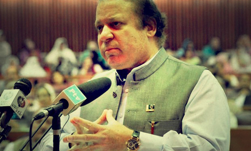 PM comes to National Assembly on Dar's day