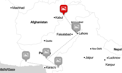 Disconcerting data: Mapping displacement across Pakistan