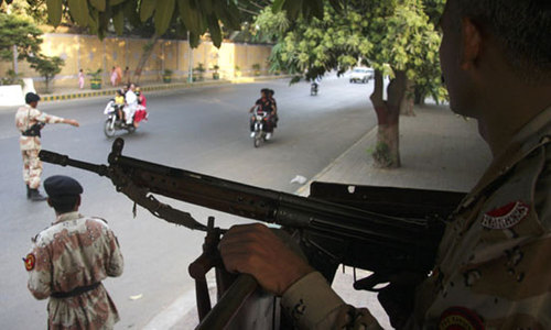 Blast near Rangers headquarters in Karachi; five injured