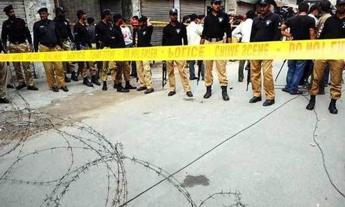 Two policemen among three gunned down in Hyderabad