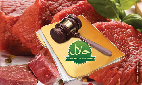 Legal umbrella for halal products