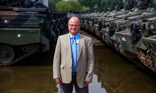 The Koch Battle Tank Dismantling